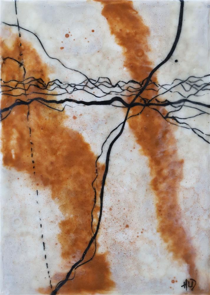 """Zing"" original fine art by Heather Douglas"