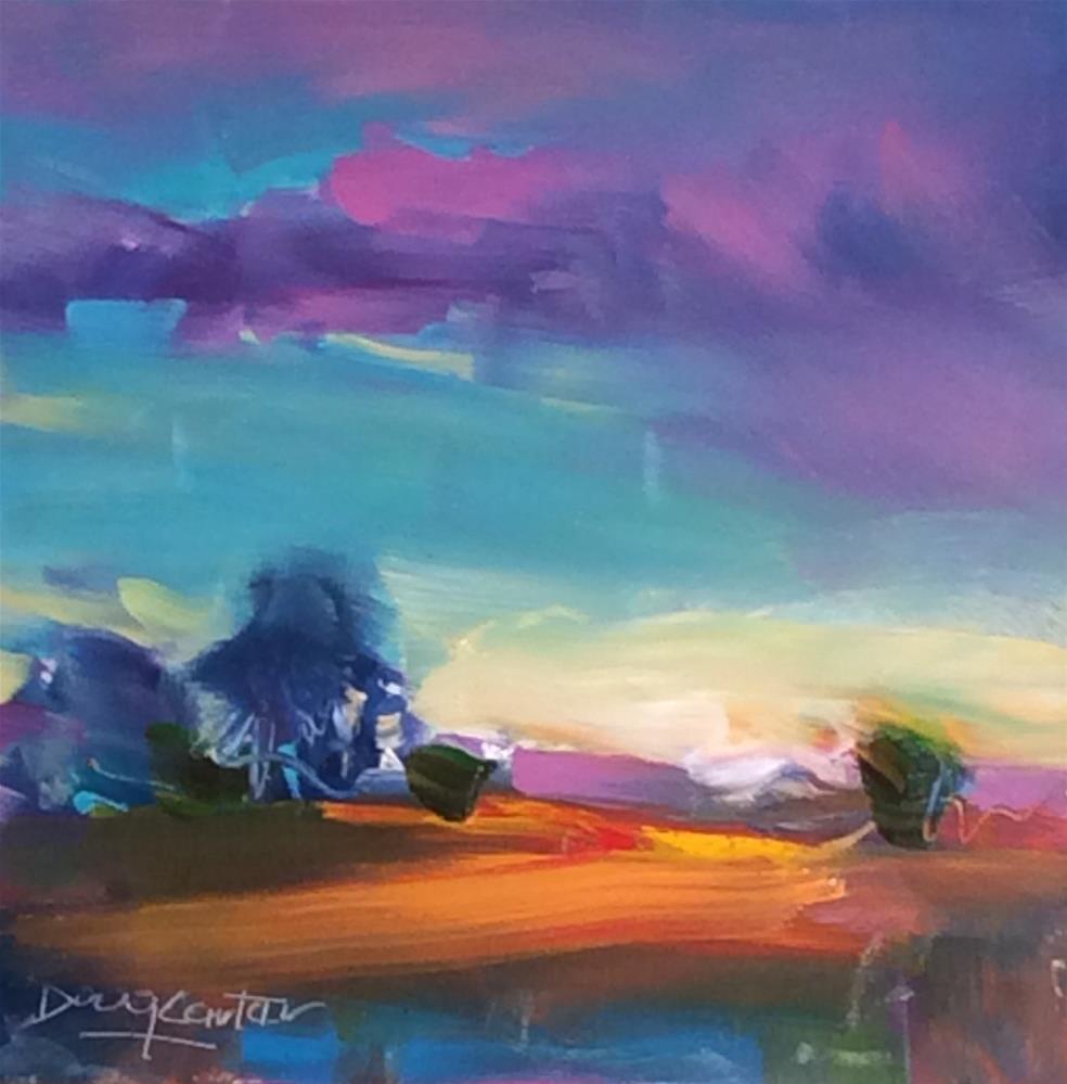 """""""WARM & HOT"""" original fine art by Doug Carter"""