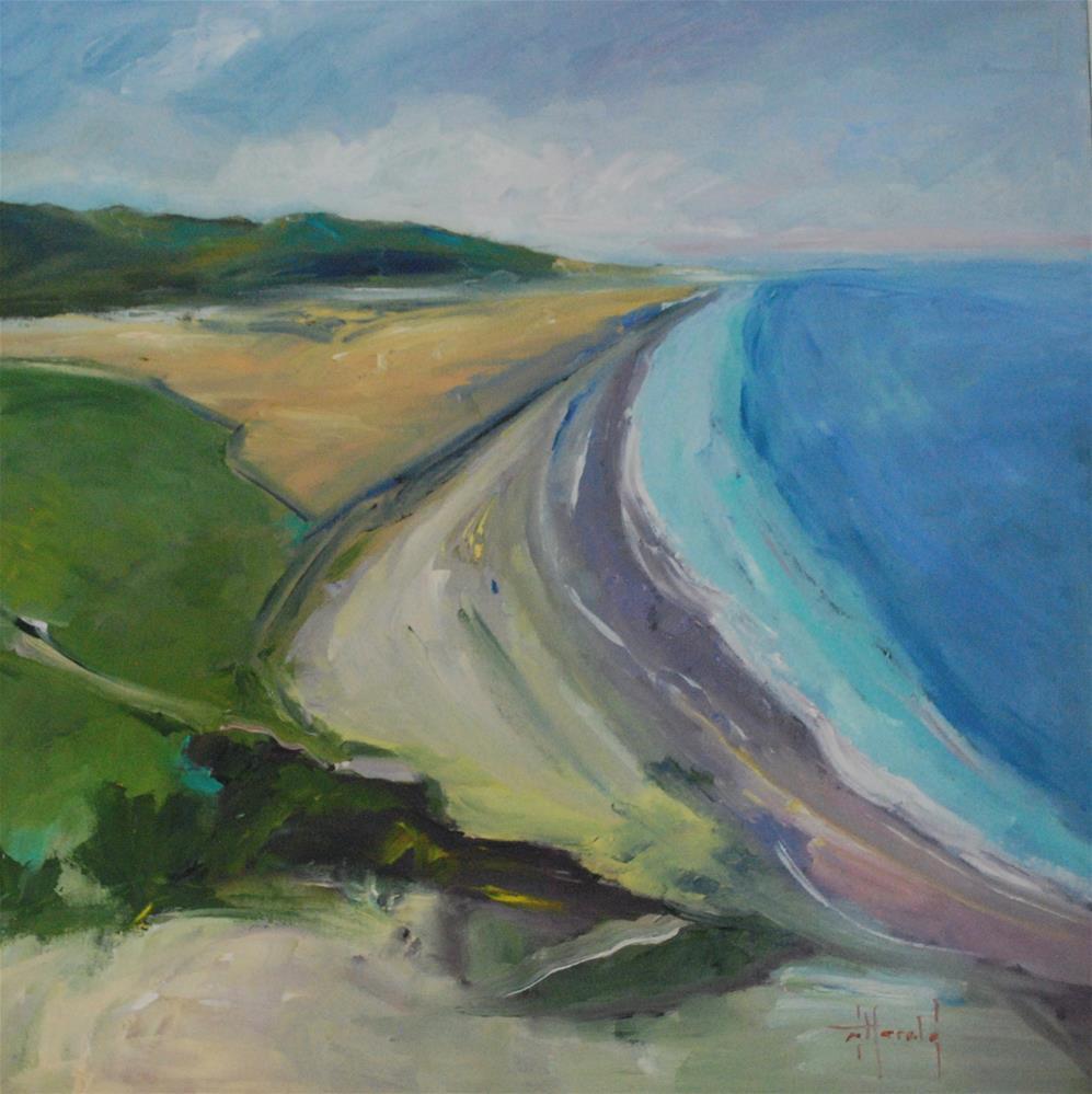 """Clear Coast"" original fine art by Deborah Harold"