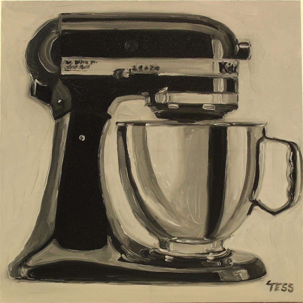 """Make It With You-Bread"" original fine art by Tess Lehman"