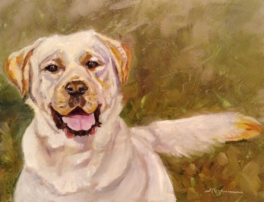 """""""Stuart"""" original fine art by Shelley Koopmann"""