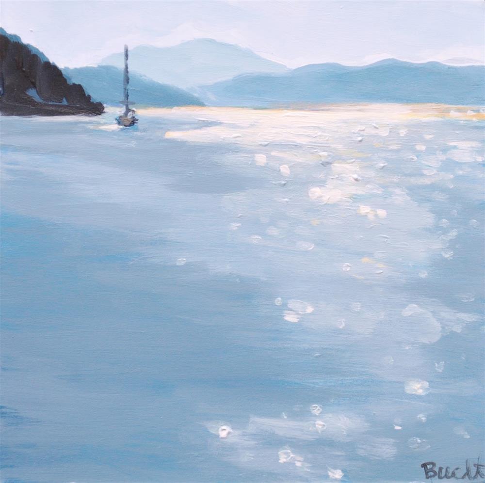 """Sparkling Passage"" original fine art by Shari Buelt"