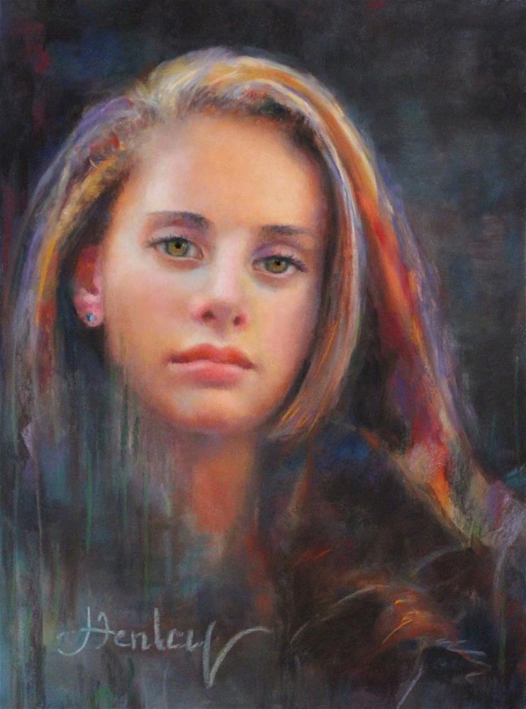 """""""Emily Ann"""" original fine art by Denise Henley"""