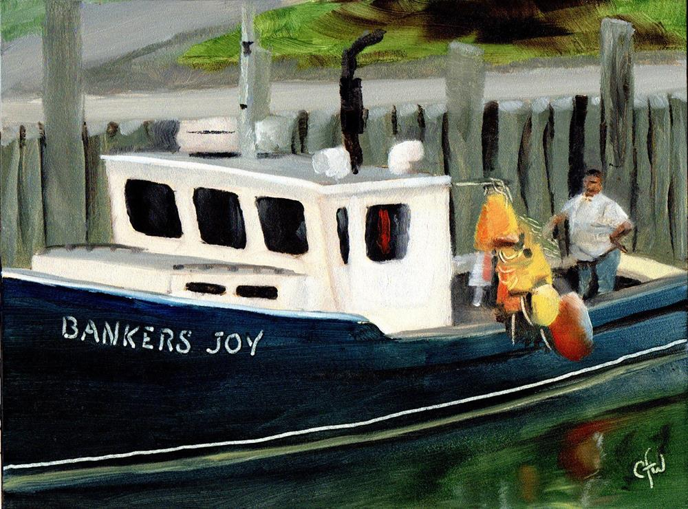 """Bankers Joy"" original fine art by Gary Westlake"