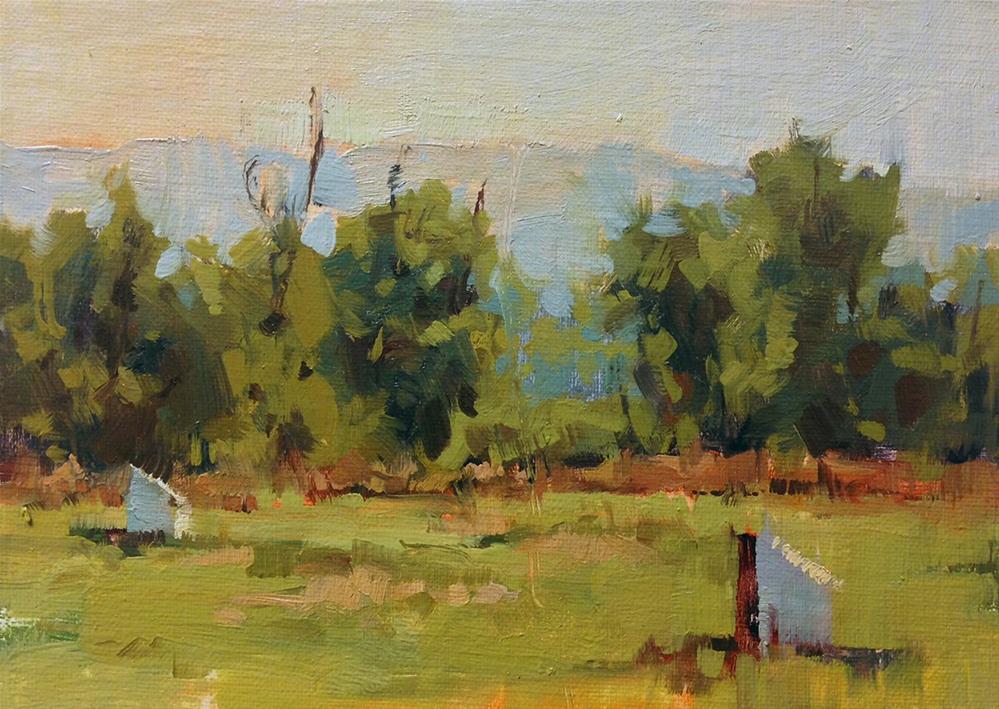 """Home for Bees"" original fine art by Melanie Thompson"