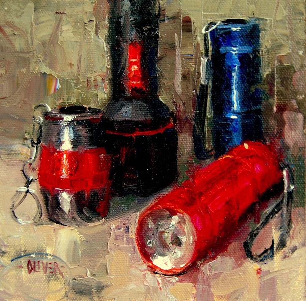 """""""Other Lights of My Life"""" original fine art by Julie Ford Oliver"""