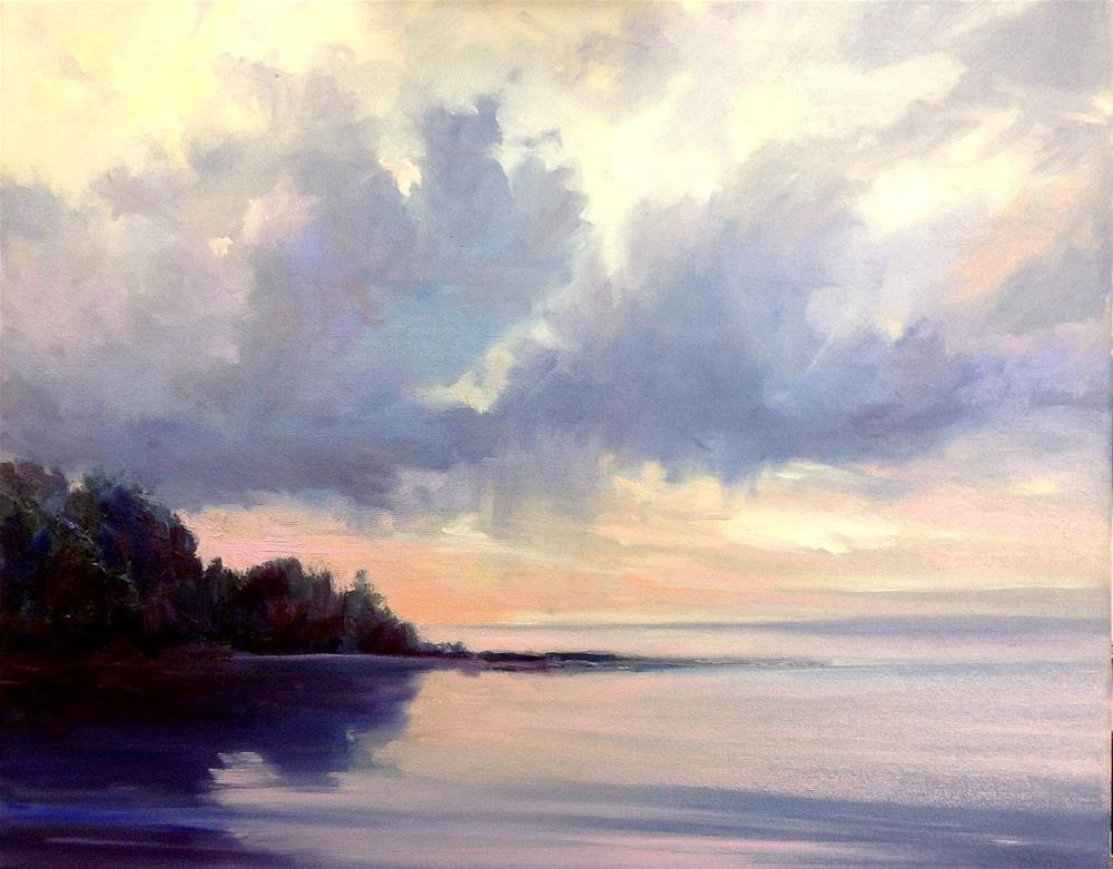 """""""Any Moment Now"""" original fine art by Cathy Boyd"""