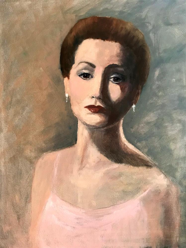 """""""carol"""" original fine art by Betty Argiros"""