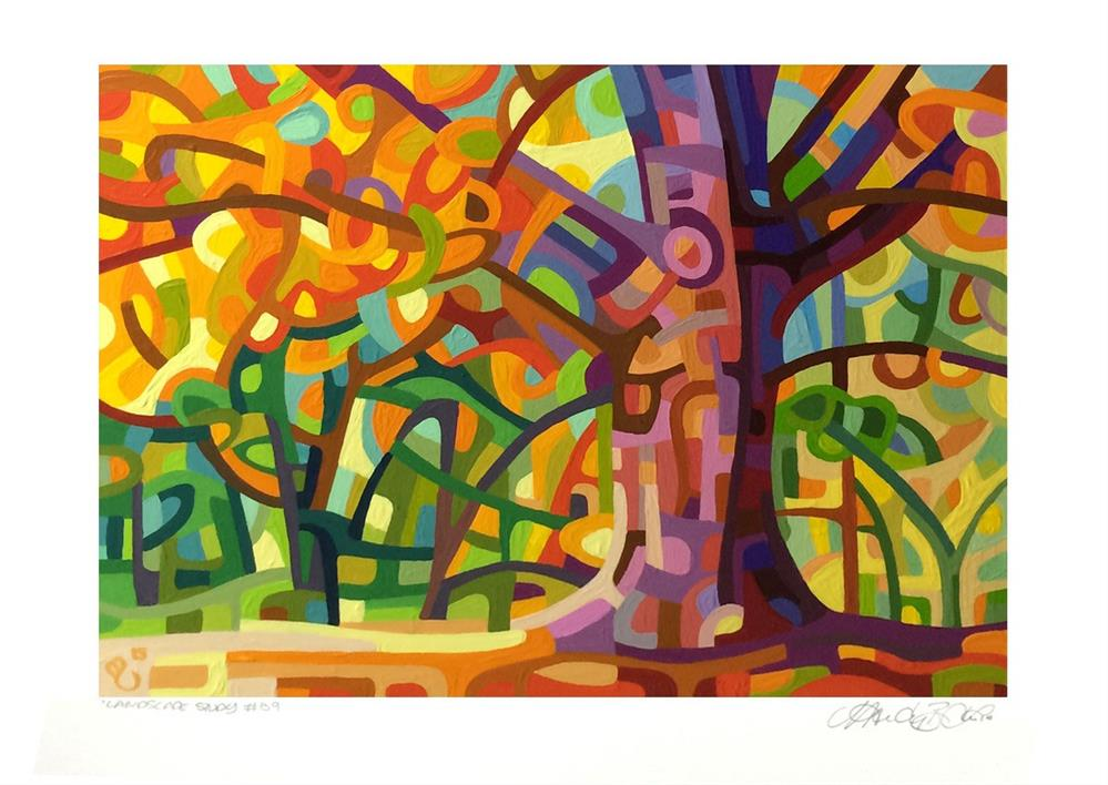 """Landscape Study #59"" original fine art by Mandy Budan"