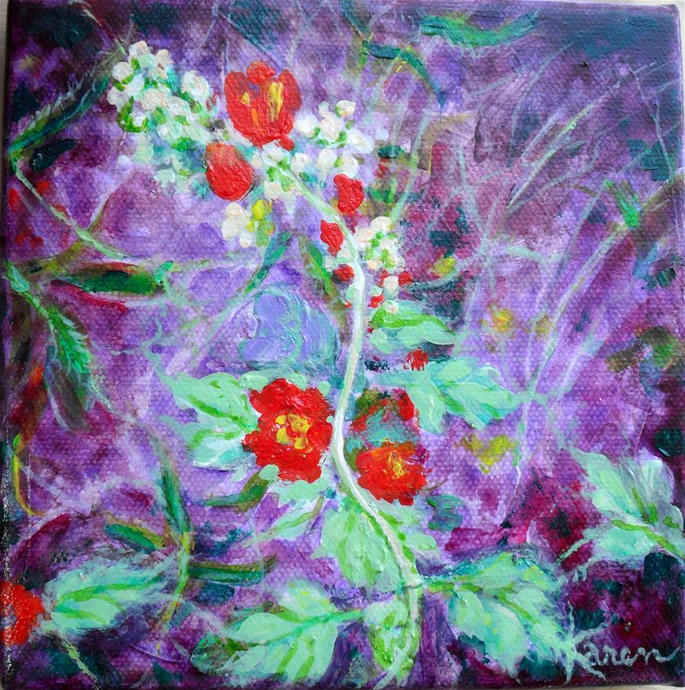 """""""Desert Flower"""" original fine art by Karen Roncari"""