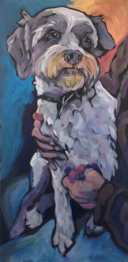 """Jack and Kelly"" original fine art by Kat Corrigan"