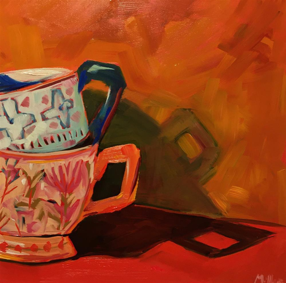 """0448: Tea Stack"" original fine art by Brian Miller"