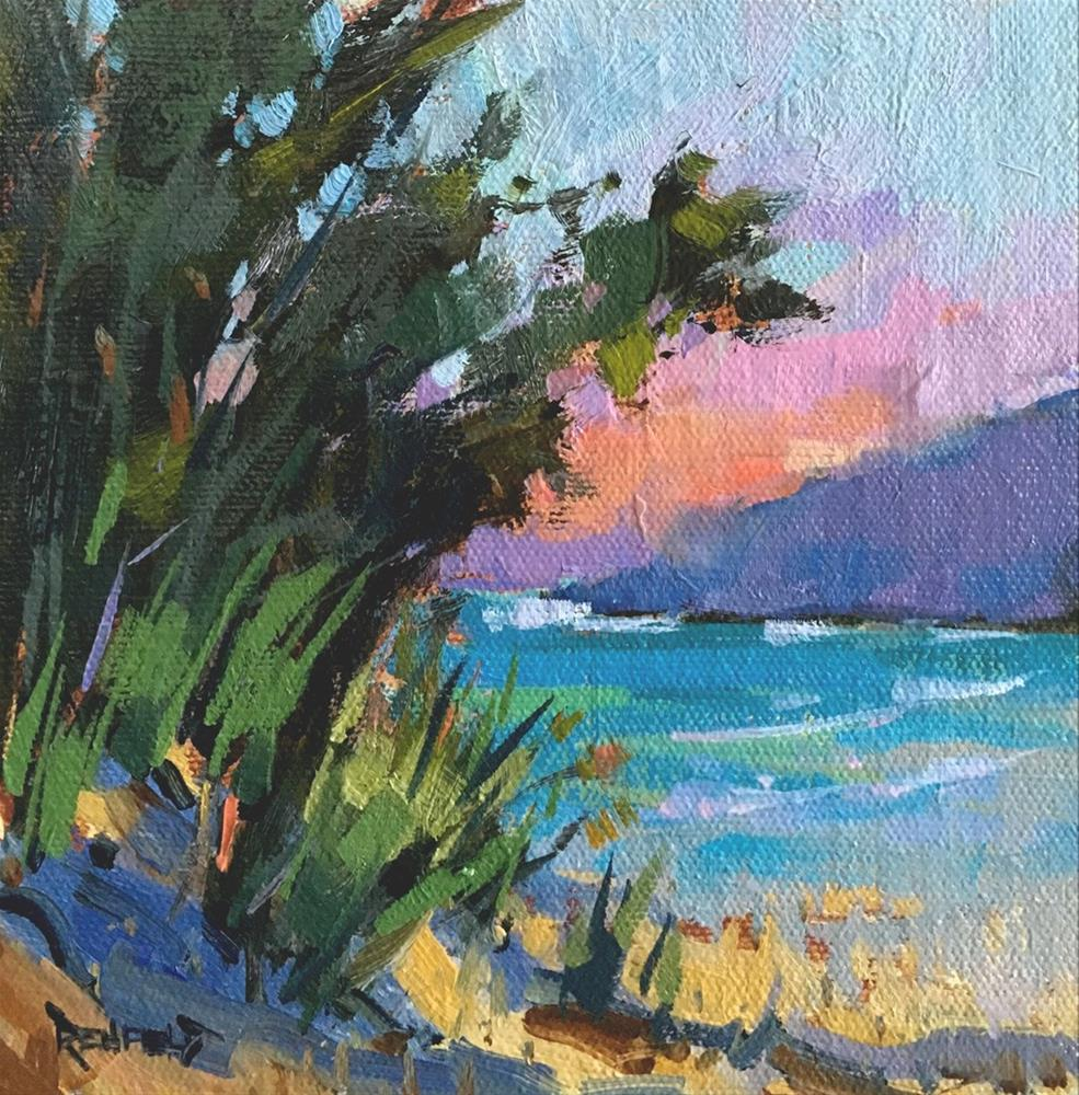 """Paradise"" original fine art by Cathleen Rehfeld"