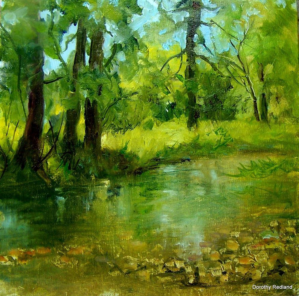 """Little Goose creek"" original fine art by Dorothy Redland"