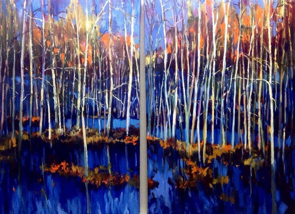 """""""Canadian Wetland"""" original fine art by Cathy Boyd"""