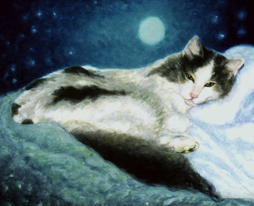 """Luna"" original fine art by J Kelsey"