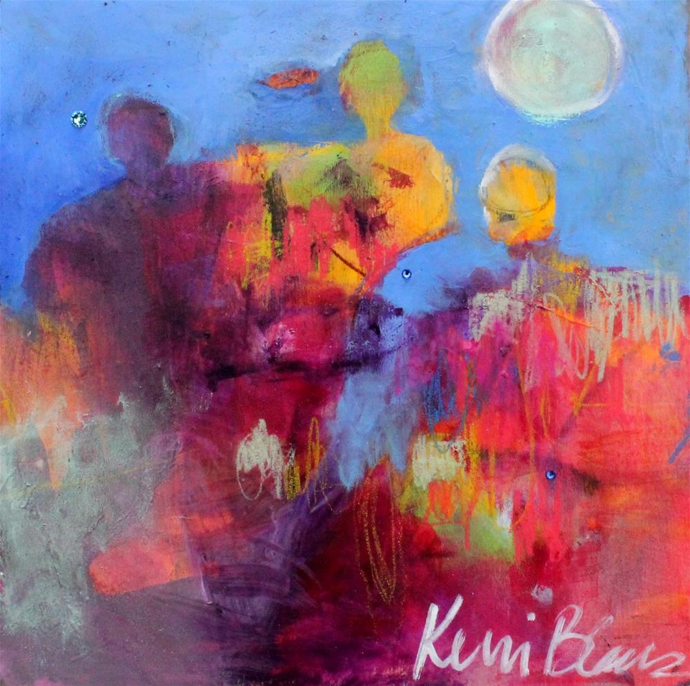 """Moon Counsel"" original fine art by Kerri Blackman"
