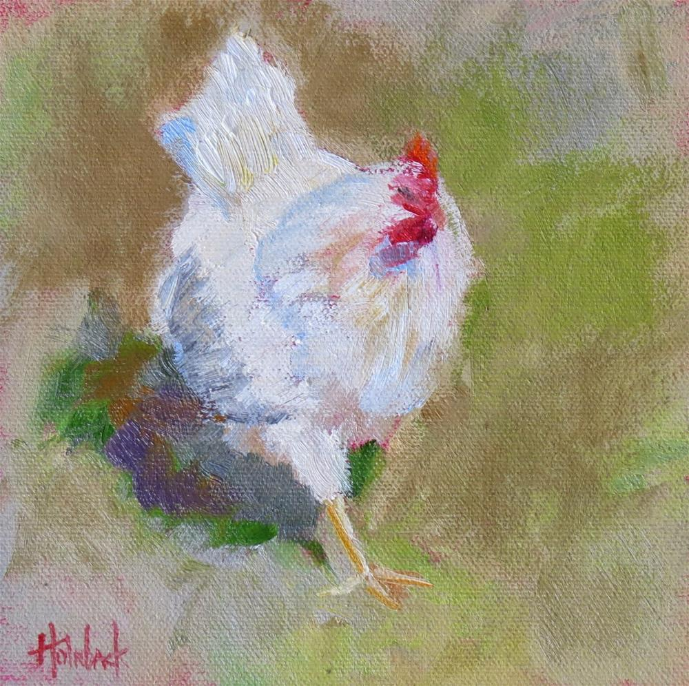 """""""Which Came First?"""" original fine art by Pam Holnback"""