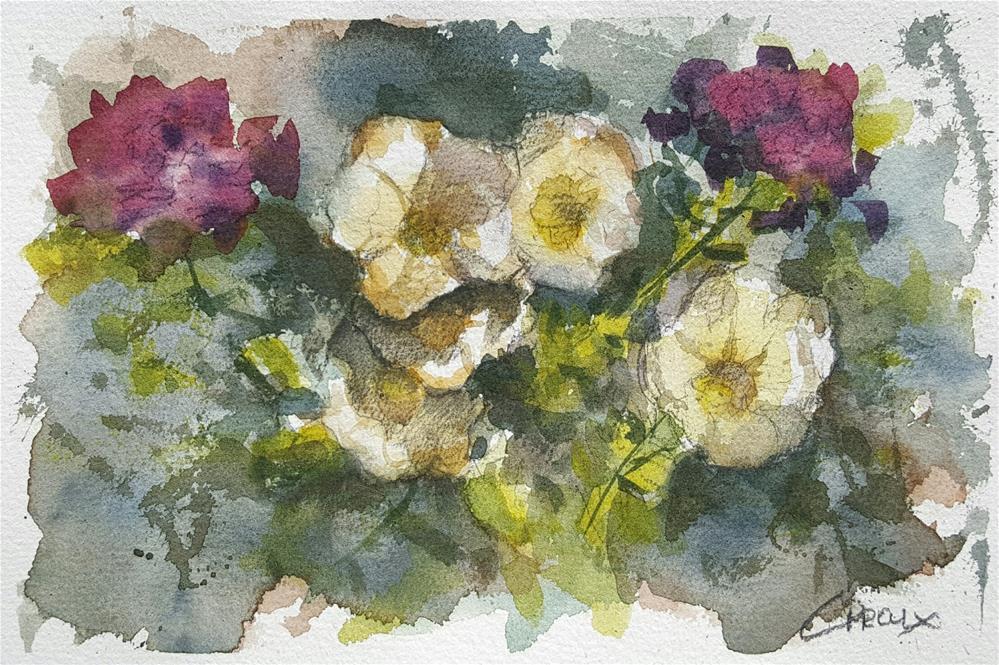 """""""Floral No.2"""" original fine art by Cory Proulx"""