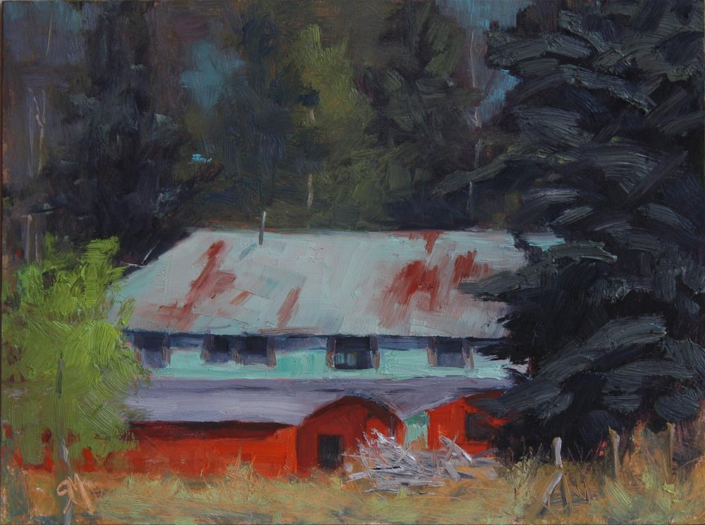 """Sipapu Ranch"" original fine art by Sheila Marie"