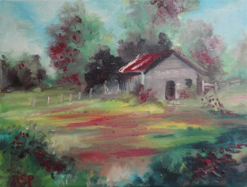"""""""Love for the Land """" original fine art by R. S. Perry"""