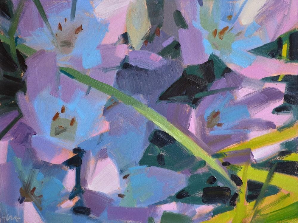 """Spring Fling"" original fine art by Carol Marine"