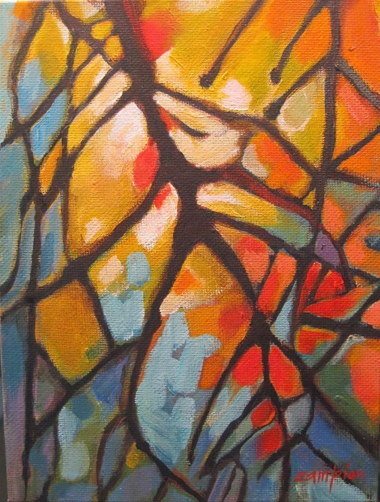 """266.  After the Storm"" original fine art by Diane Campion"
