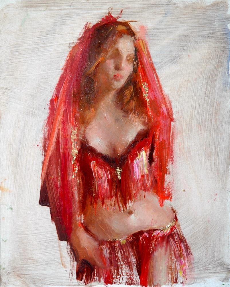 """Downton Abbey'd"" original fine art by Johanna Spinks"