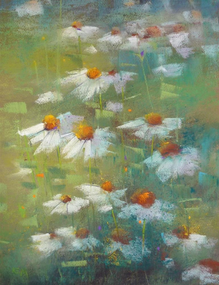 """""""Are You in a Paper Rut? Pastel Paper Tips"""" original fine art by Karen Margulis"""