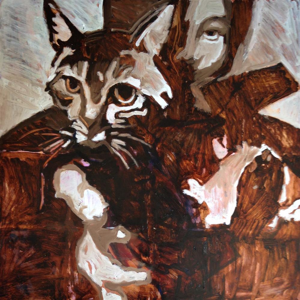 """The Cat in the Hat"" original fine art by Pamela Hoffmeister"