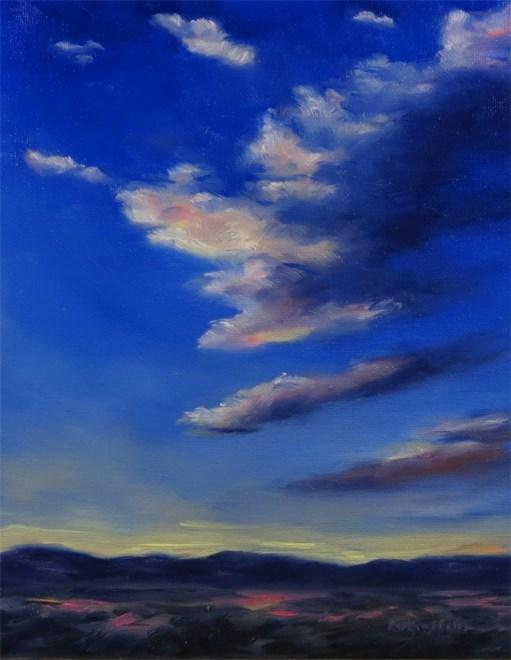 """Trumpeting Glory"" original fine art by Carol Zirkle"