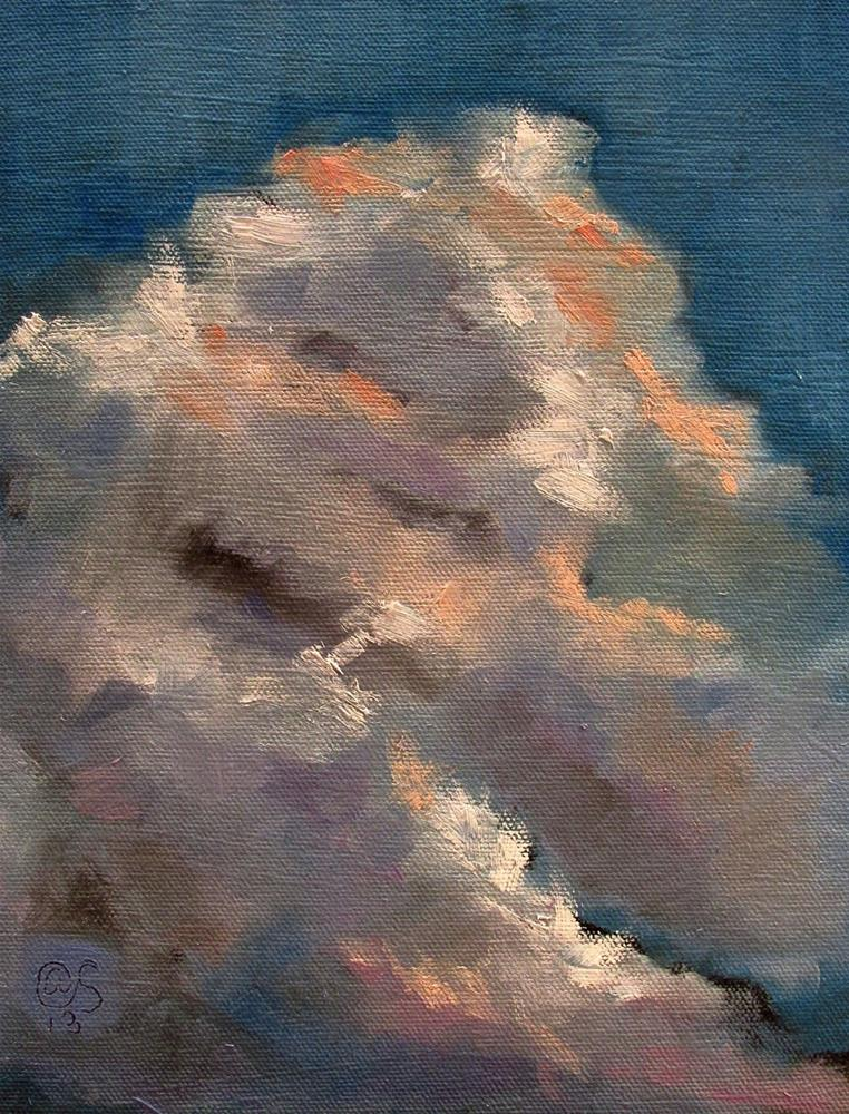 """The Uplift"" original fine art by Aurelio Saiz"