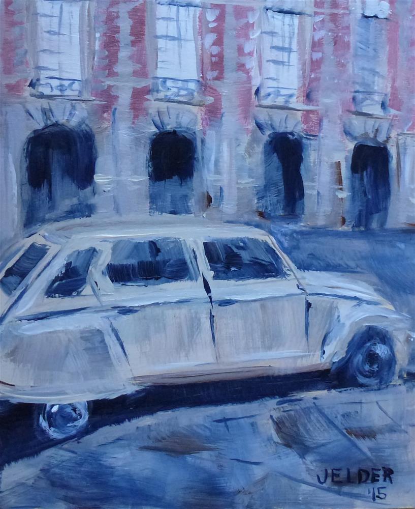 """Auto, Paris No. 84"" original fine art by Judith Elder"