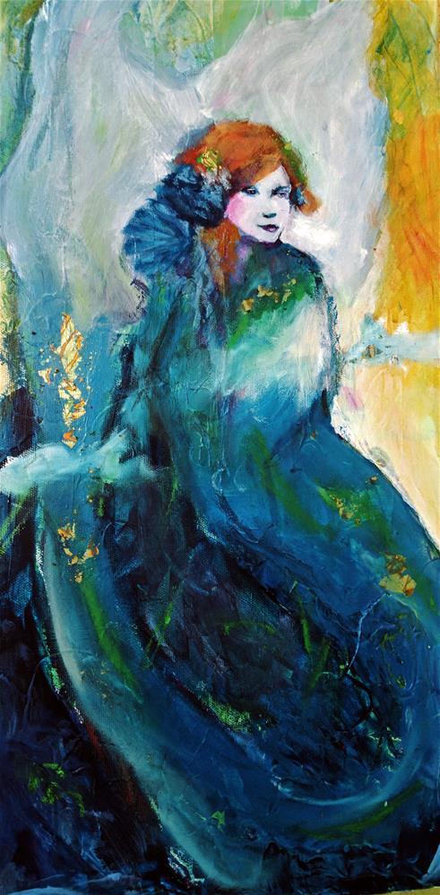 """Dream Siren"" original fine art by Kathleen Barnes"