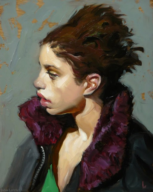 """Return"" original fine art by John Larriva"