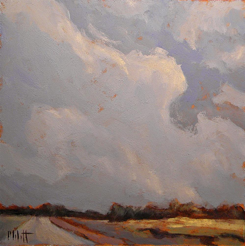 """Big Sky Contemporary Impressionism"" original fine art by Heidi Malott"