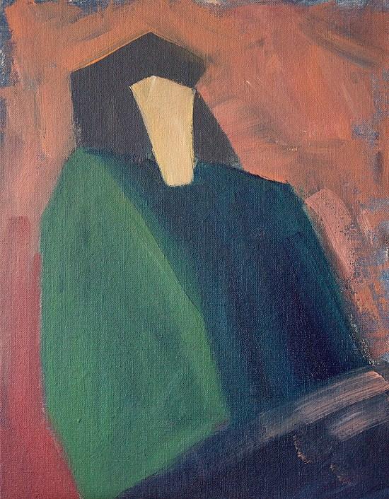 """Magistrate"" original fine art by J. Farnsworth"