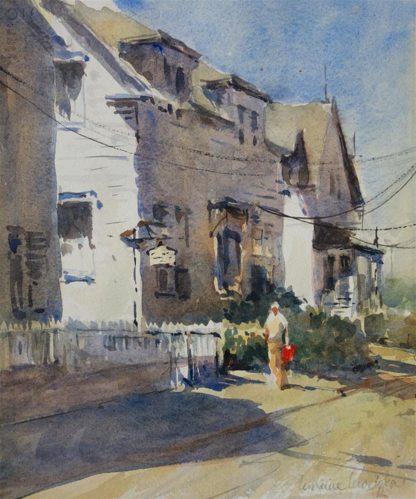 """""""Rockport"""" original fine art by Lorraine Lewitzka"""