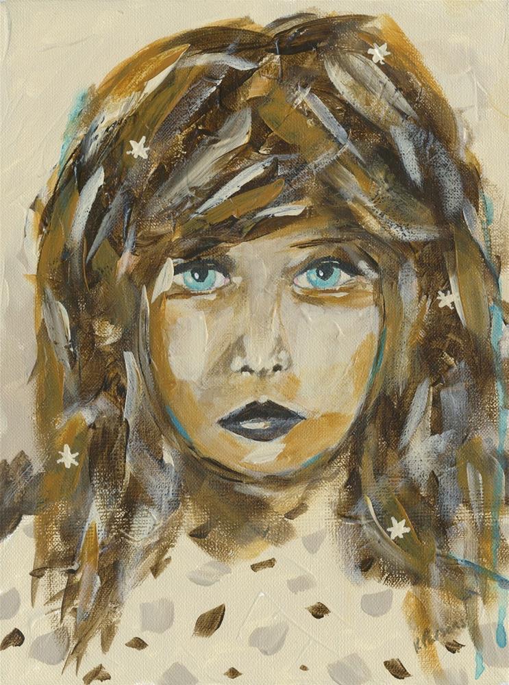 """Find Your Sparkle"" original fine art by Kali Parsons"