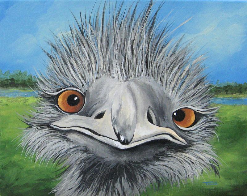 """The Bird 2011"" original fine art by Torrie Smiley"