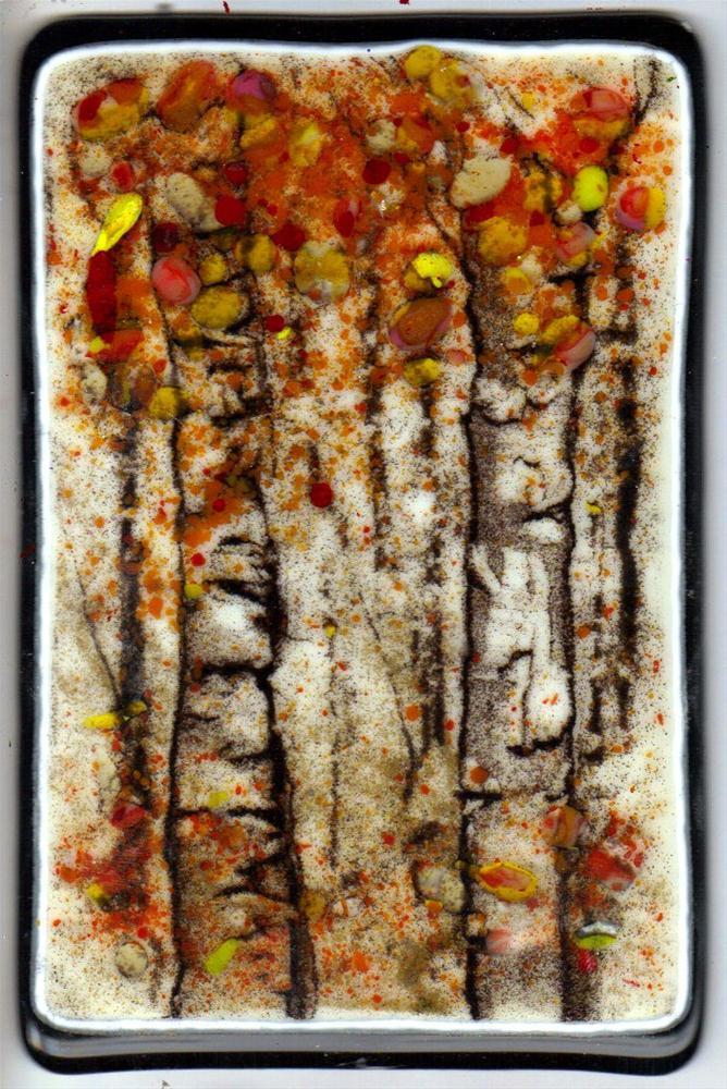 """Birches"" original fine art by Kristen Dukat"