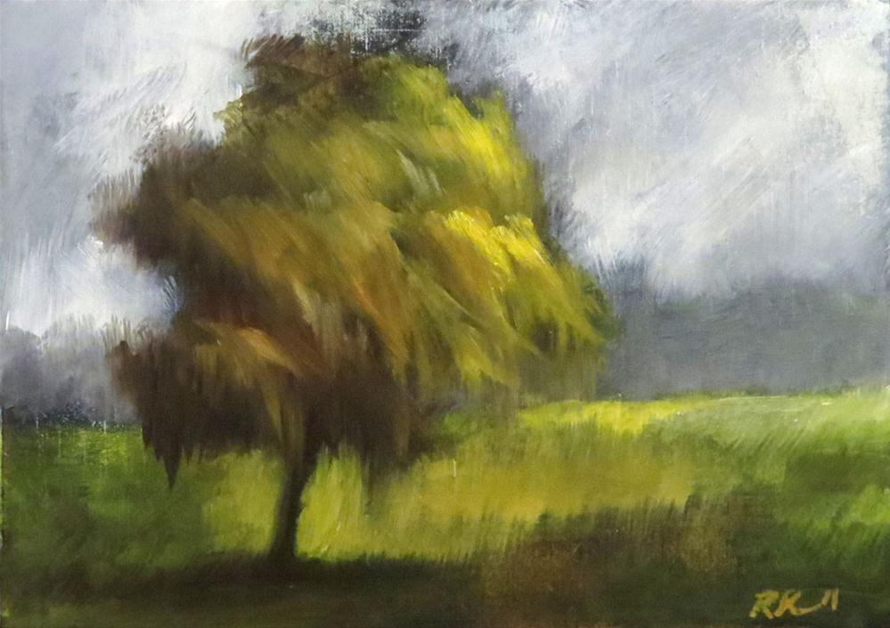 """""""March in the Park I"""" original fine art by Bob Kimball"""