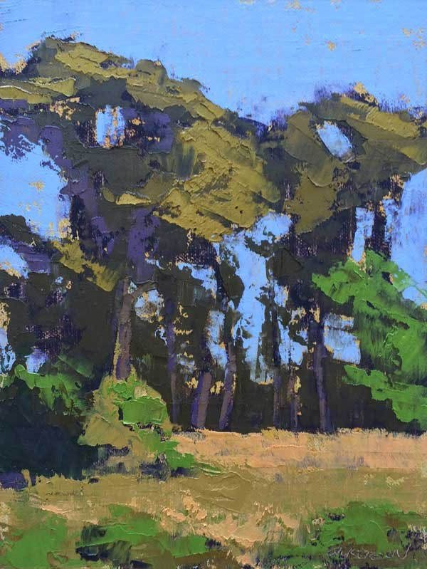 """""""The Banks of the Pee Dee"""" original fine art by Mary Gilkerson"""