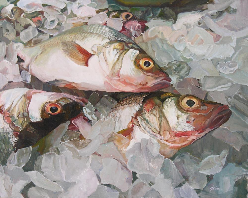 """Jumbled Up"" original fine art by Elaine Hahn"