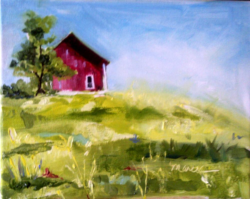 """""""Living in the Country"""" original fine art by Marcia Hodges"""