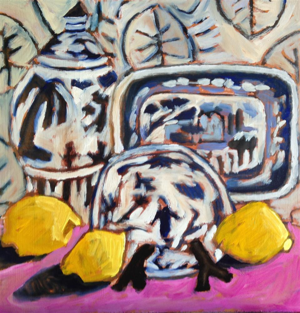 """""""Good News"""" original fine art by Pamela Hoffmeister"""