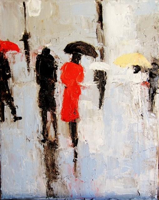 """""""together"""" original fine art by Astrid Buchhammer"""