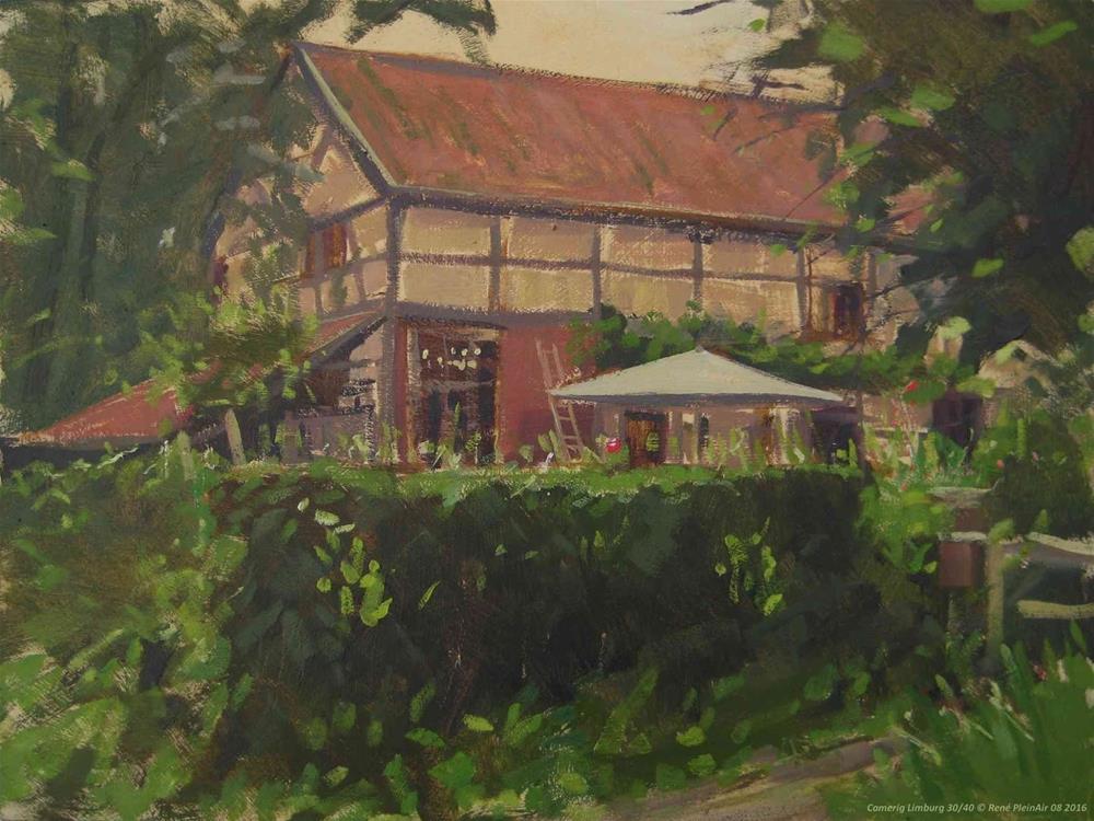 """Camerig. Limburg, The Netherlands"" original fine art by René PleinAir"