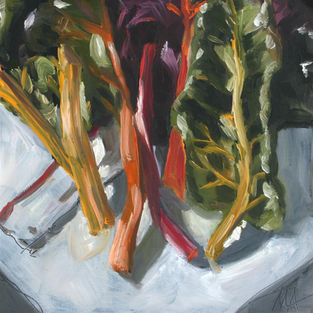 """Just Leaves"" original fine art by Aniko Makay"