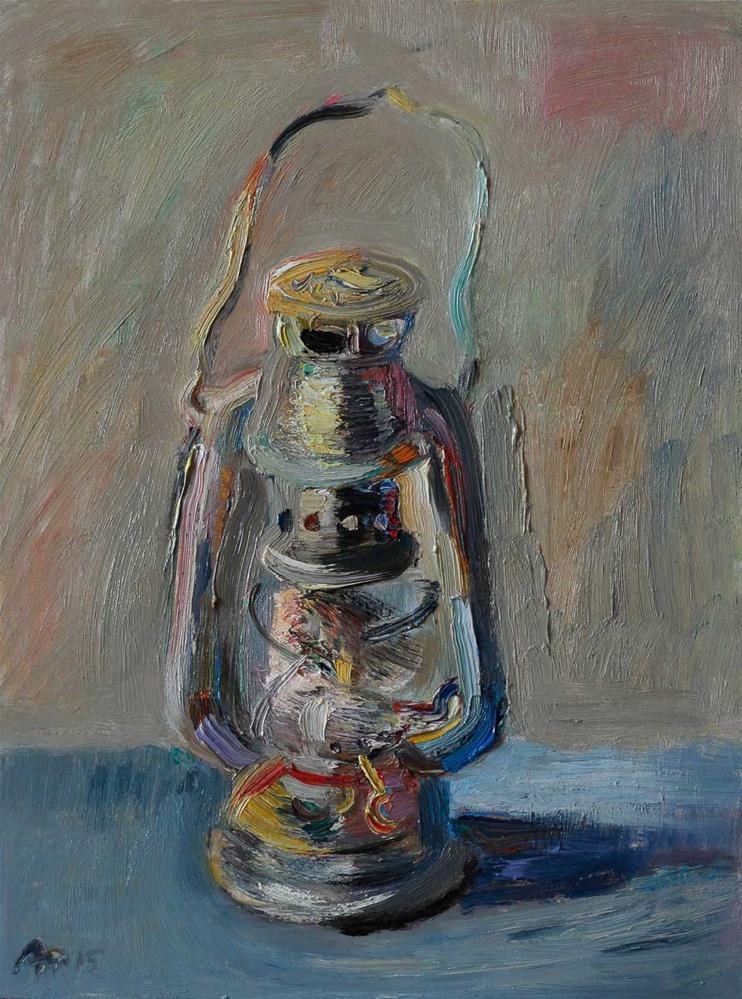 """Oil Lamp"" original fine art by Anna Fine Art"
